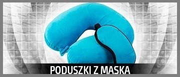 Wygodna poduszka podróżna + Maska na oczy. Kup teraz na LeFant.pl