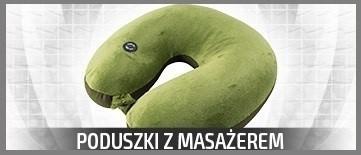 Super wygodna poduszka podróżna z Masażem! Duży wybór kolorów. Kup na leFatn.pl